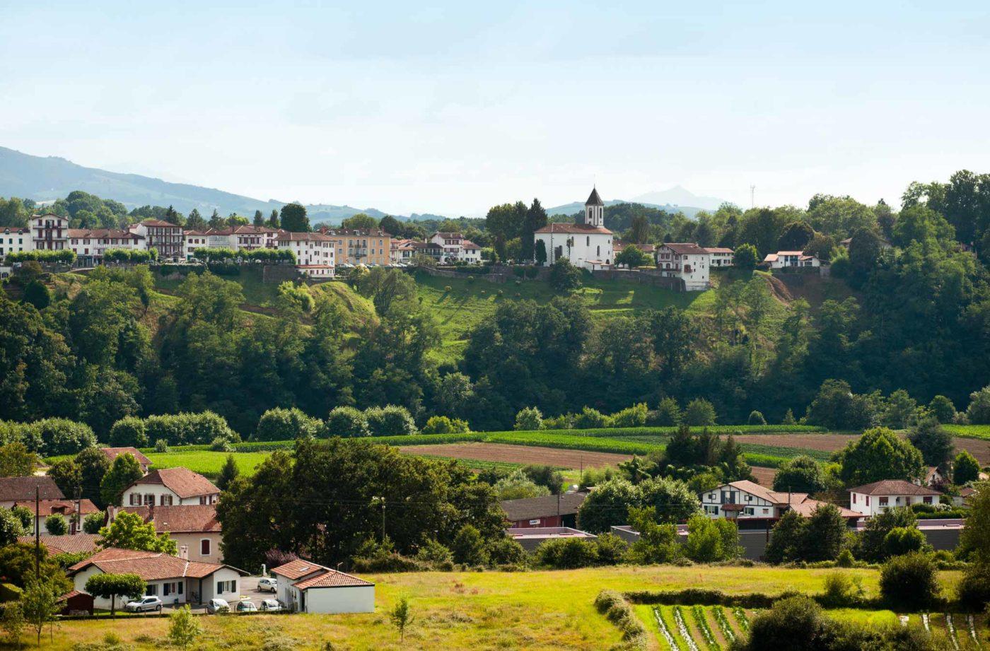 Cambo Les Bains Vue Village Alex Gaztelumendi