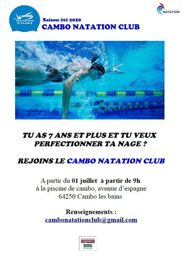 Cambo Natation Club