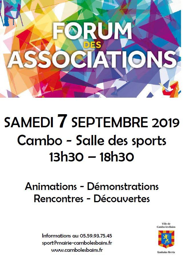 Forum Des Associations Cambo Les Bains