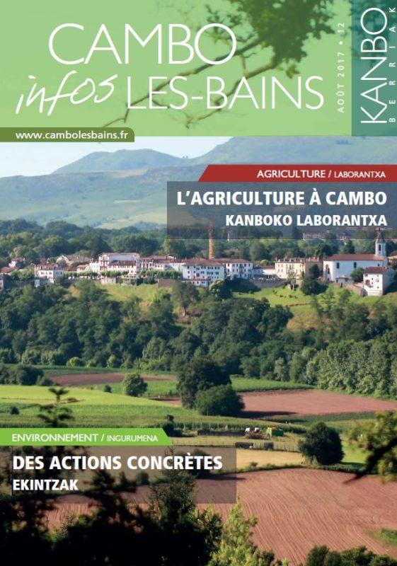 Bulletin Municipal 12 Cambo Juillet 2017
