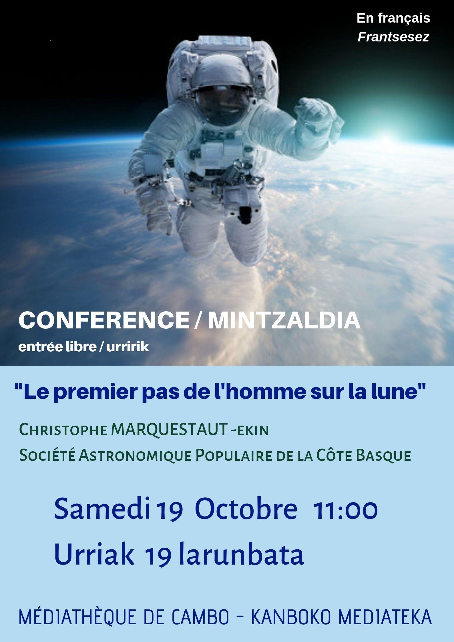 Conférence Lune
