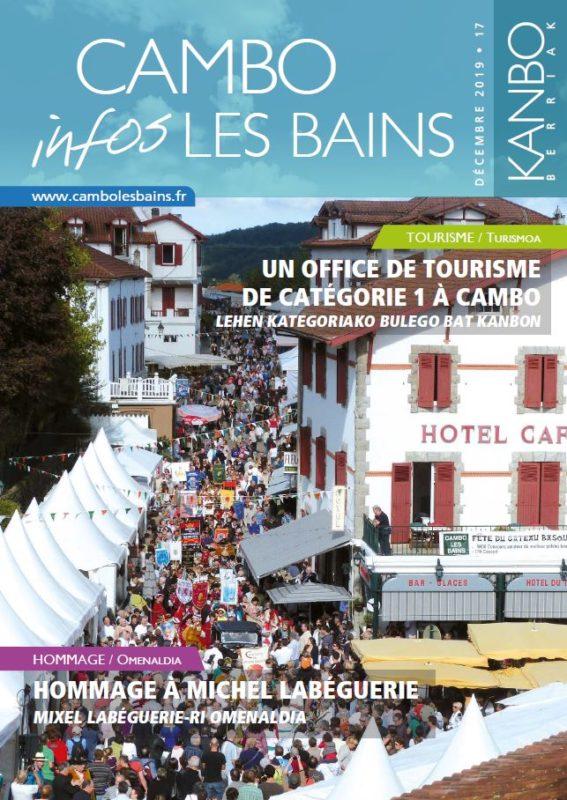 Couv Bulletin N17 Décembre 2019 Cambo Les Bains
