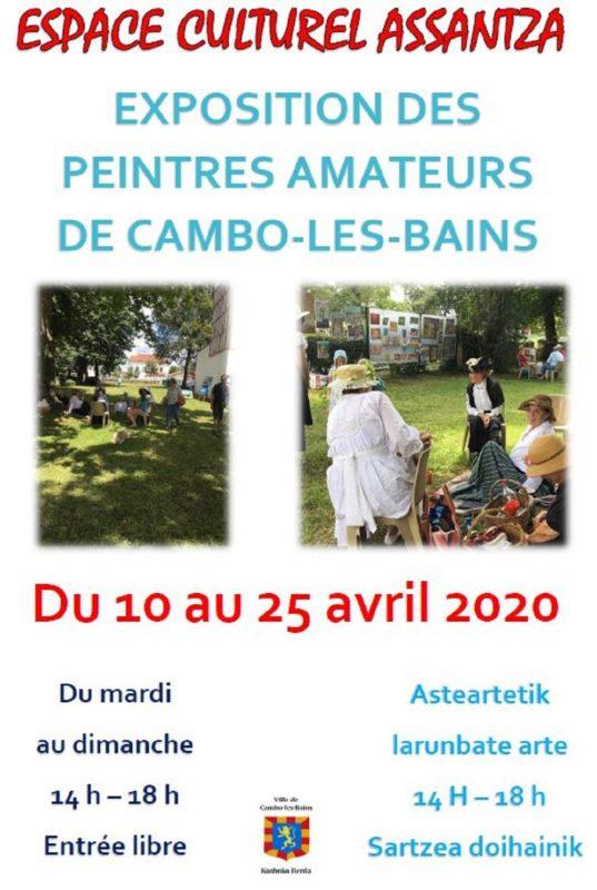 Affiche Peintres De Cambo 2020 1000
