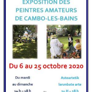 Affiche Peintres De Cambo 2020 800