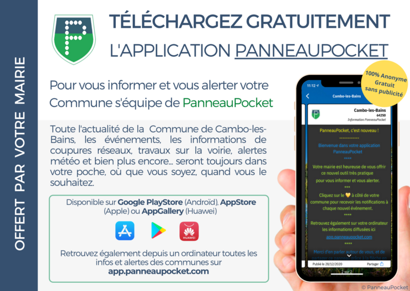 panneau pocket sticker