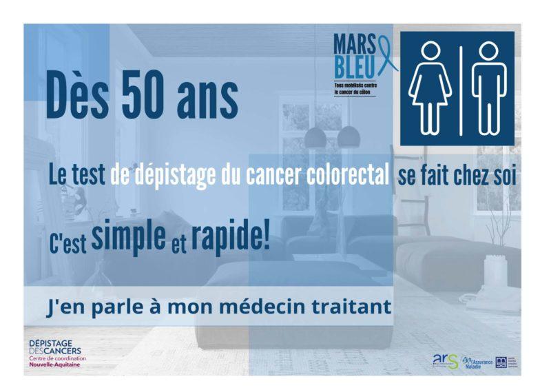 Affiche Mars Bleu Jpg