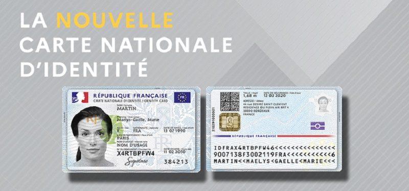 La Nouvelle Carte Nationale D Identite Largeur 760