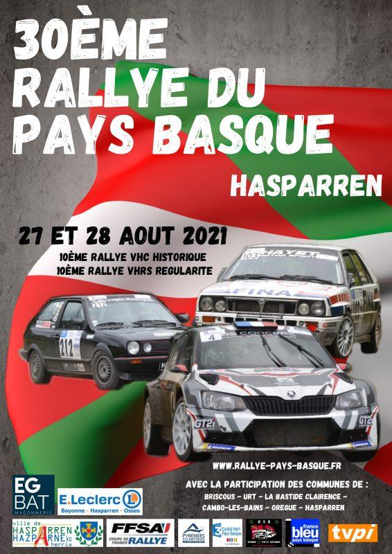 Affiche Finale Rallye 2021