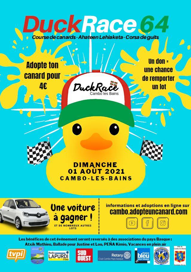 Affiche Duckrace 21